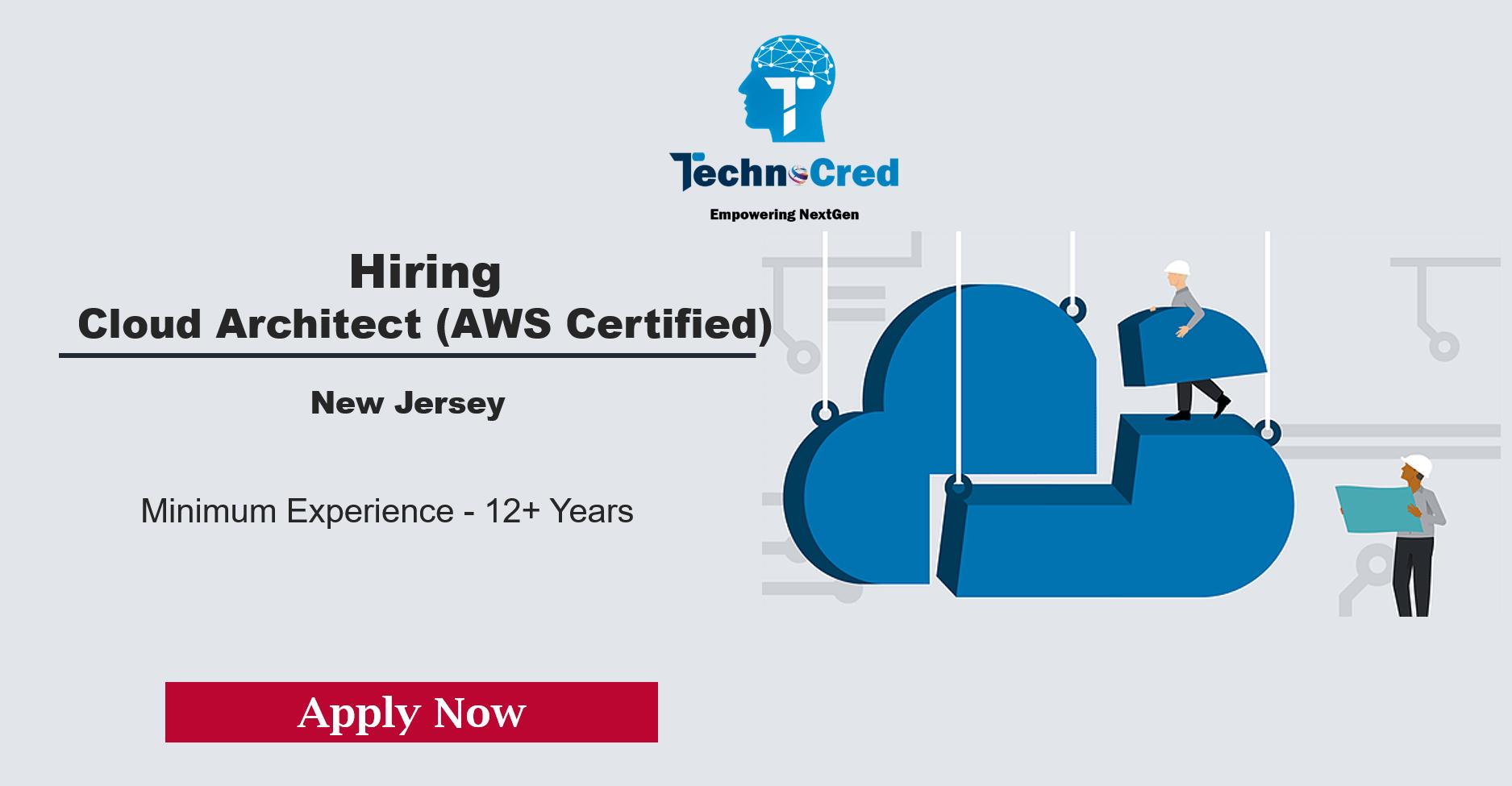 Hiring Cloud Architect (AWS Certified)