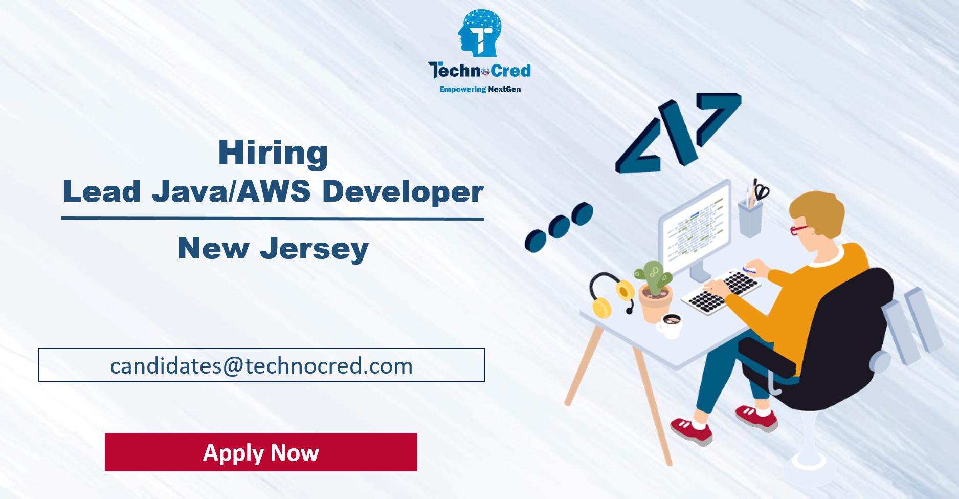 Lead Java/AWS Developer