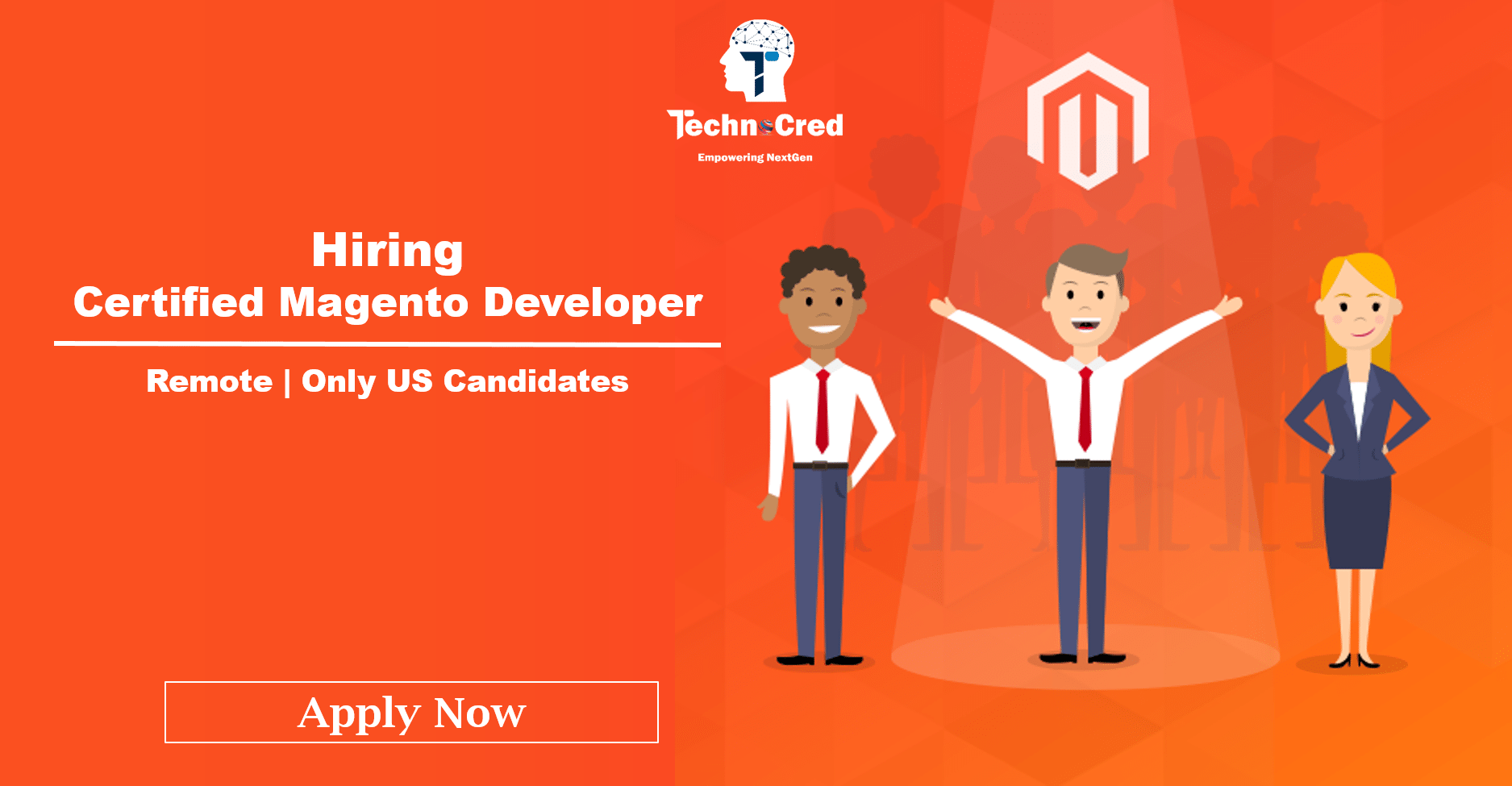 Hiring Certified Magento Developer (Remote- only for US candidates)